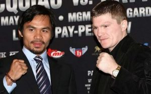 hatton pacquiao 300x187 Hatton vs. Pacquiao Betting Odds, Preview & Picks